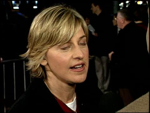 ellen degeneres at the 'adaptation' premiere on december 3 2002 - ellen degeneres stock videos & royalty-free footage