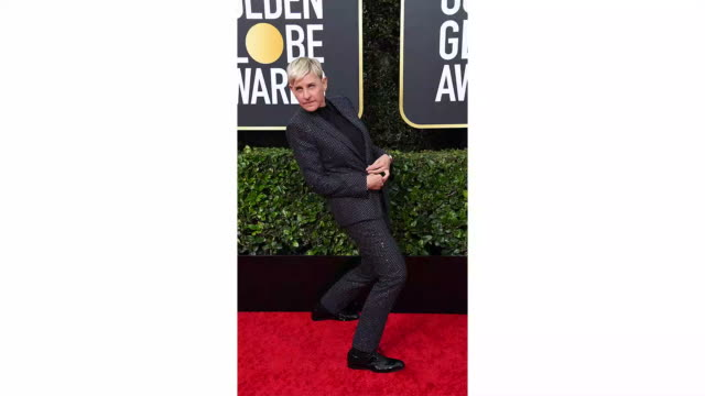ellen degeneres attends the 77th annual golden globe awards at the beverly hilton hotel on january 05 2020 in beverly hills california - ellen degeneres stock videos & royalty-free footage