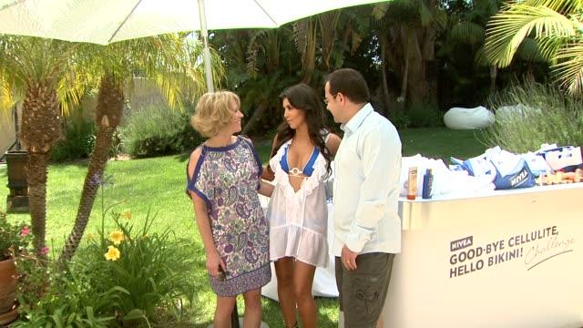 Ellen Finn Kim Kardashian Nicolas Maurer Vice President Marketing Beiersdorf USA Inc at the NIVEA / Shay Todd Memorial Day Weekend Malibu 'Bikini...