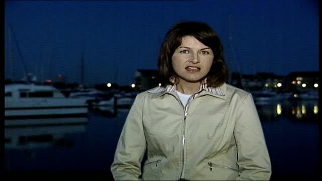 stockvideo's en b-roll-footage met ellen macarthur record breaking attempt itn hampshire southampton ext i/c - southampton engeland