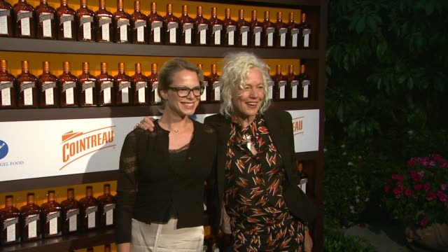 ellen von unwerth at cointreau and dita von teese launch cointreau poolside soirees in celebration of the beverly hills hotel's 100th anniversary in... - beverly hills hotel stock videos and b-roll footage