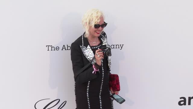 Ellen von Unwerth at the amfAR Cannes Gala 2019 Arrivals at Hotel du CapEdenRoc on May 23 2019 in Cap d'Antibes France