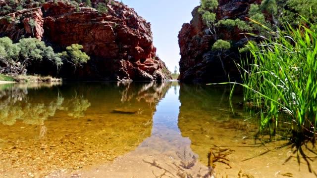 Ellery Creek grote gat Waterhole Noordelijk Territorium, Australië