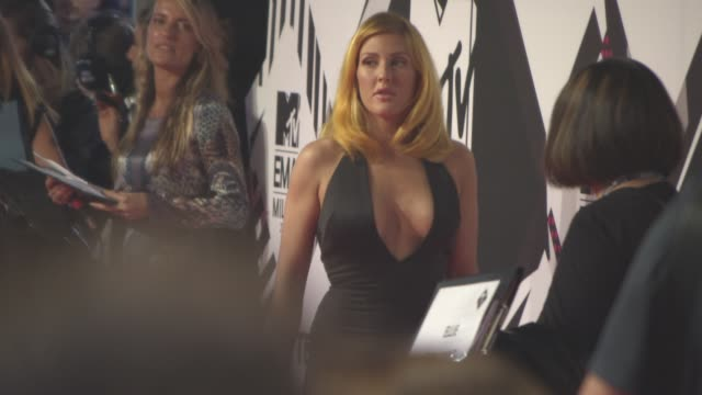 Ellie Goulding at MTV Europe Music Awards on October 25 2015 in Milan