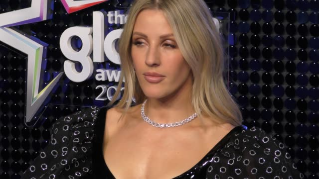 vídeos de stock, filmes e b-roll de ellie goulding at the global awards 2020 with verycouk on march 5 2020 in london england - ellie goulding