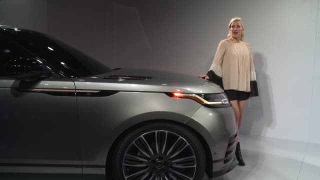 ellie goulding at u.s. debut of land rover velar with ellie goulding at lincoln ristorante on april 11, 2017 in new york city. - land rover stock videos & royalty-free footage