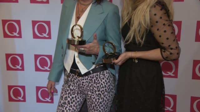 BROLL Ellie Goulding Chrissie Hynde Jake Bugg Tim Burgess John Cooper Clarke Foals Biffy Clyro Suede at Q Awards 2013 at The Grosvenor House Hotel on...