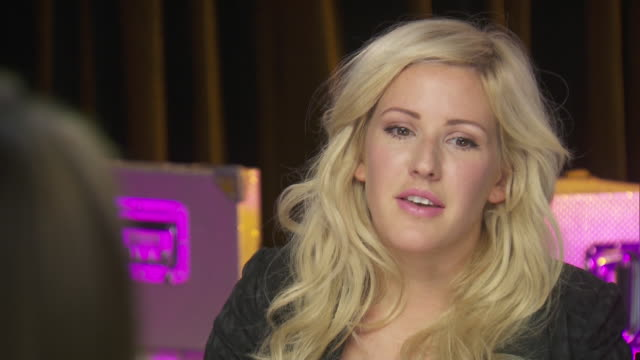 ellie goulding says that the chime for change event to benefit women's rights is a perfect opportunity for her. - human rights or social issues or immigration or employment and labor or protest or riot or lgbtqi rights or women's rights stock videos & royalty-free footage