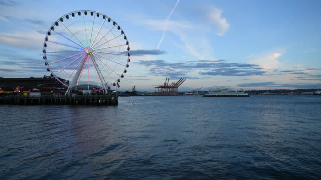 elliott bay - big wheel stock videos & royalty-free footage