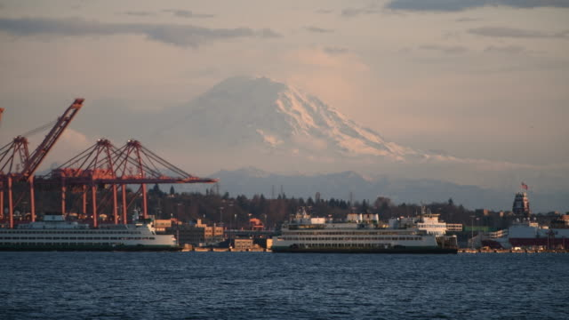 elliott bay - puget sound stock videos & royalty-free footage