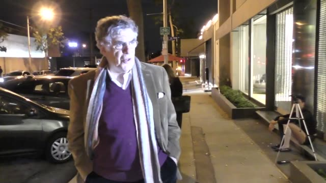 interview elliott gould asked about al franken in west hollywood at celebrity sightings in los angeles on november 17 2017 in los angeles california - elliott gould stock videos & royalty-free footage