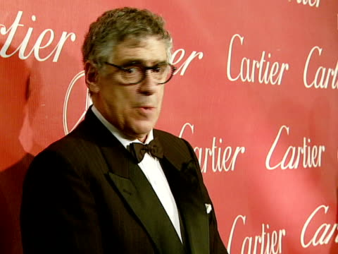 elliott gould at the 2008 palm springs international film festival hosts starstudded awards gala presented by cartier red carpet arrivals at palm... - elliott gould stock videos & royalty-free footage