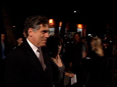 elliott gould at the 'meet joe black' premiere at academy theater in beverly hills california on november 10 1998 - elliott gould stock videos & royalty-free footage