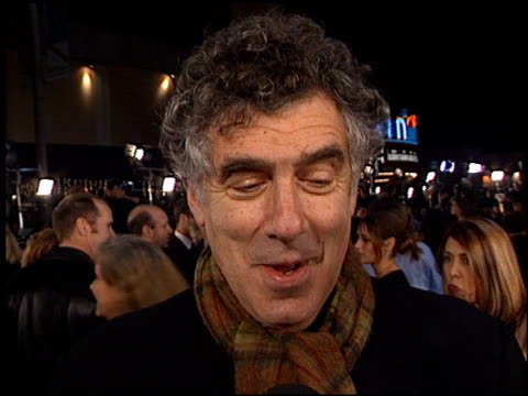 elliott gould at the 'oceans 11' premiere at the mann village theatre in westwood california on november 5 2001 - elliott gould stock videos & royalty-free footage
