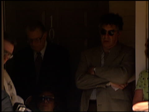 elliott gould at the palm view aids housing dedication on november 19 1998 - elliott gould stock videos & royalty-free footage