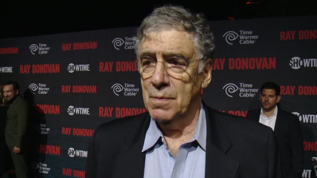 interview elliott gould on what fans can expect to see in season 2 and what makes this show truly unique at showtime and time warner cable celebrate... - elliott gould stock videos & royalty-free footage