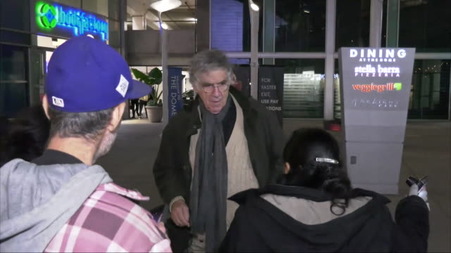 elliott gould outside the uncut gems premiere at arclight theatre in hollywood in celebrity sightings in los angeles - elliott gould stock videos & royalty-free footage