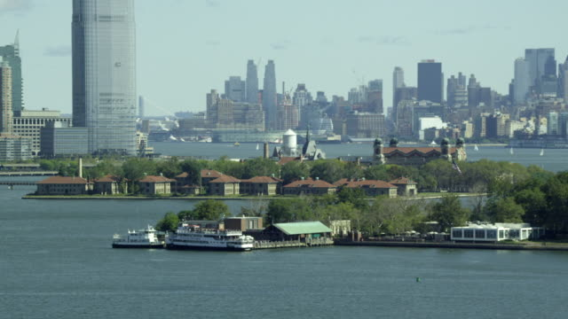 TELEPHOTO Ellis Island to reveal Statue of Liberty