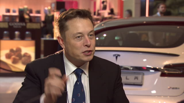 elon musk explaining why he believes solar energy is viable in the uk despite the cloudy british weather - sunlight stock videos & royalty-free footage