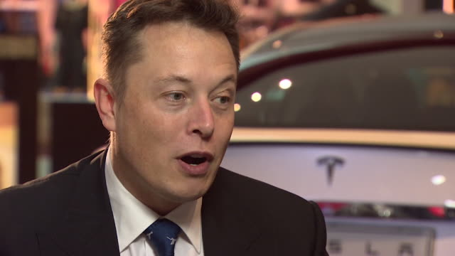 Elon Musk saying Tesla will be creating free charging locations throughout the UK and any Tesla car owner will be able to 'travel anywhere for free...