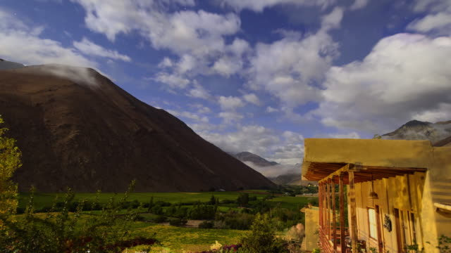 elqui valley in moonlight - chile stock videos & royalty-free footage
