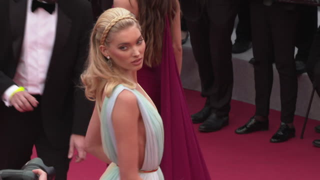 GIF Elsa Hosk at 'A Hidden Life' Red Carpet Arrivals The 72nd Cannes Film Festival at Palais des Festivals on May 19 2019 in Cannes France
