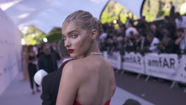 SLOMO Elsa Hosk at amfAR Gala Cannes 2018 at Hotel du CapEdenRoc on May 17 2018 in Cap d'Antibes France