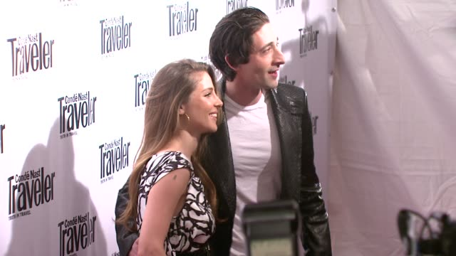 Elsa Pataky and Adrien Brody at the Conde Nast Traveler Celebrates its 8th Annual Hot List Party at Mansion in New York New York on April 17 2008