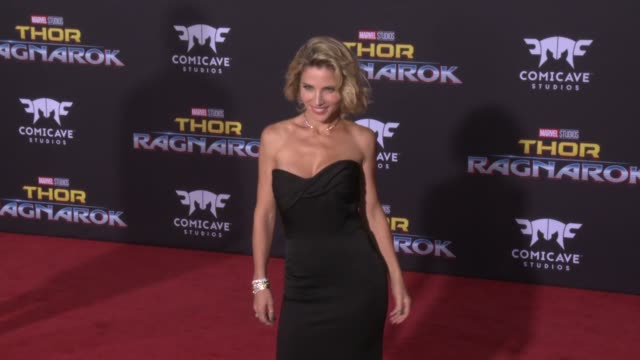 Elsa Pataky at the Thor Ragnarok Premiere at the El Capitan Theatre on October 10 2017 in Hollywood California