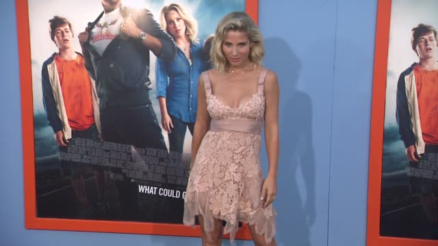 elsa pataky at the vacation los angeles premiere at regency village theatre on july 27 2015 in westwood california - regency village theater stock videos and b-roll footage