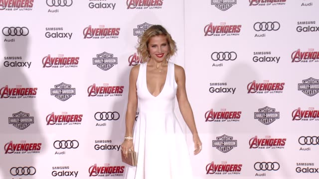 Elsa Pataky at The World Premiere of Marvel's Avengers Age of Ultron at Dolby Theatre on April 13 2015 in Hollywood California