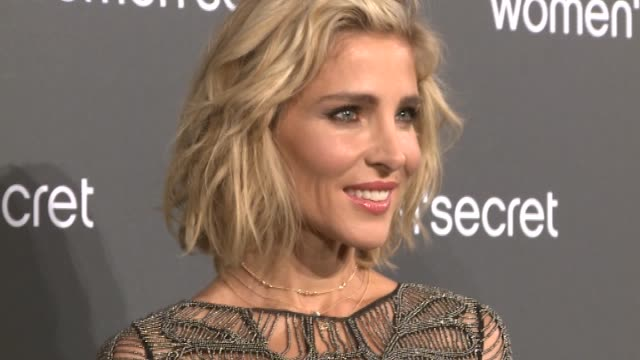 Elsa Pataky attends the event Women'Secret Night to present the campaign Wanted