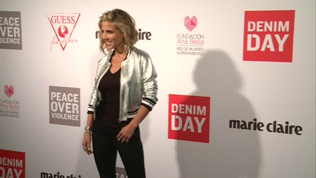Elsa Pataky attends the Guess Foundation Denim Day Charity