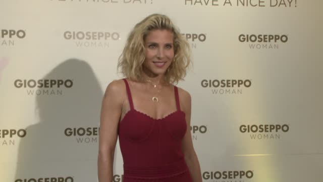 Elsa Pataky attends the presentation of the new collection of Gioseppo Woman