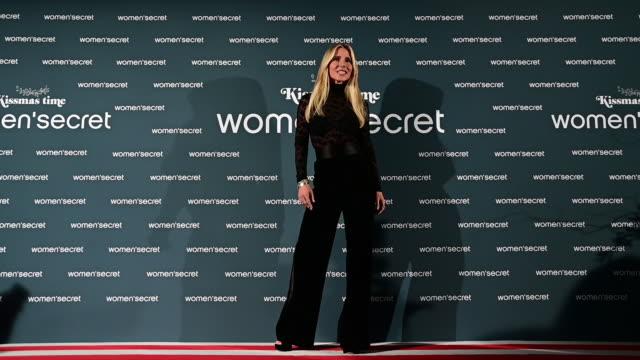 ESP: Elsa Pataky Presents 'KissMas Time' By Women'Secret In Madrid