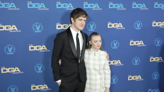 elsie fisher and bo burnham at the 71st annual dga awards at the ray dolby ballroom at hollywood & highland center on february 02, 2019 in hollywood,... - hollywood and highland center stock videos & royalty-free footage