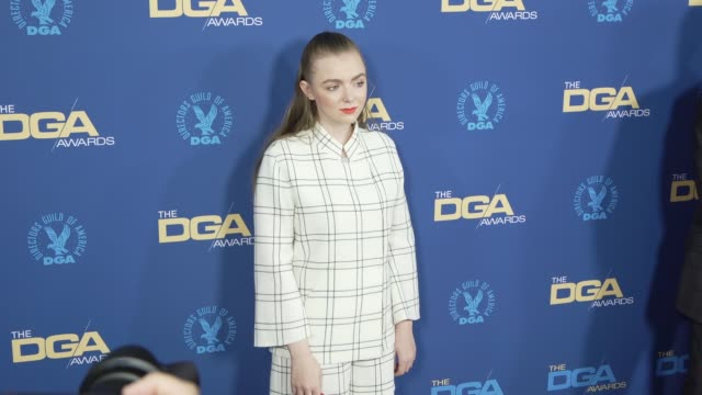 elsie fisher at the 71st annual dga awards at the ray dolby ballroom at hollywood highland center on february 02 2019 in hollywood california - director's guild of america stock videos & royalty-free footage