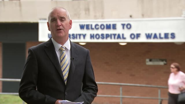 Opportunities to save toddler were missed WALES Cardiff University Hospital of Wales EXT Reporter to camera