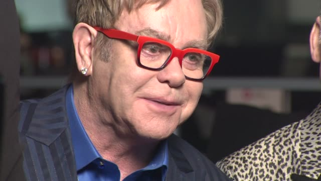 Elton John and David Furnish at the Elton John AIDS Foundation Presents 22nd Annual Academy Awards Viewing Party Sponsored By Chopard Neuro Drinks...