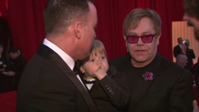 Elton John at Elton John AIDS Foundation Presents 21st Annual Academy Awards Viewing Party Sponsored By Chopard Neuro Drinks And Wells Fargo on...