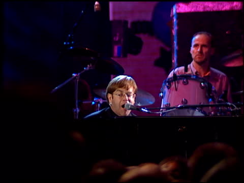 elton john at the planet hollywood entrances and concert on september 17 1995 - elton john stock videos & royalty-free footage