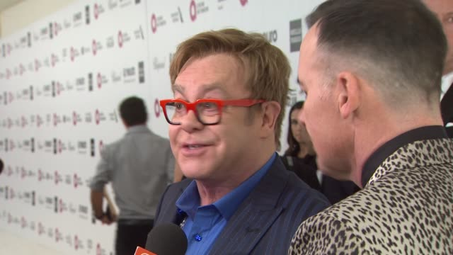 Elton John David Furnish at Elton John AIDS Foundation Presents 22nd Annual Academy Awards Viewing Party Sponsored By Chopard Neuro Drinks And Wells...