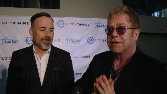 INTERVIEW Elton John David Furnish on why that wanted to be a part of Operation Change talk about their experience working with the Starkey Hearing...
