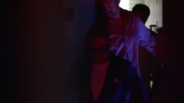 Elton John David Furnish sneak out of Craigs in West Hollywood in Celebrity Sightings in Los Angeles