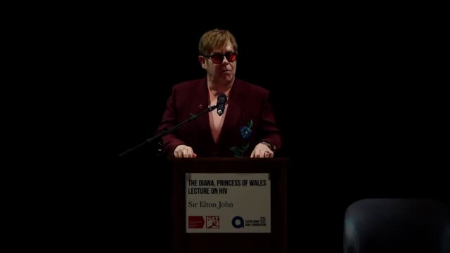 Elton John says tech and social media companies need to do more in the fight to end HIV and Aids