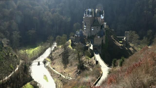 eltz castle, eifel, moselle valley, rhineland-palatinate, germany - german culture stock videos and b-roll footage