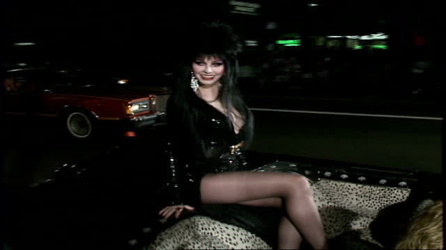 mistress of the dark premiere - convertible stock videos & royalty-free footage