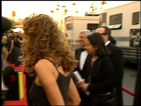 elvis costello at the 1999 american music awards entrances at the shrine auditorium in los angeles, california on january 11, 1999. - elvis costello stock-videos und b-roll-filmmaterial