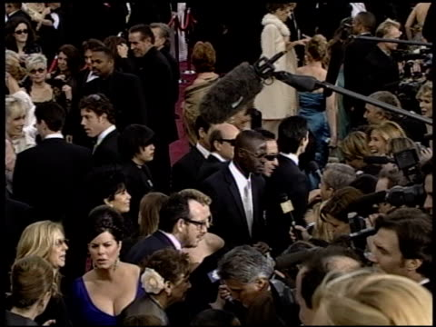 elvis costello at the 2004 academy awards arrivals at the kodak theatre in hollywood, california on february 29, 2004. - elvis costello stock-videos und b-roll-filmmaterial