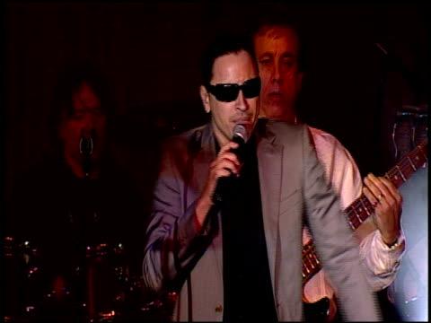 Elvis Crespo Gloria Estefan at the BMI's 16th Annual Latin Music Awards at Palm Beach FL